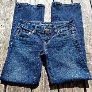 AEO size 4 favorite boyfriend stretchy jeans